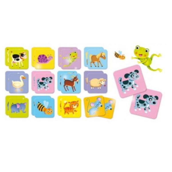 Carotina Baby Memo The Animals 10.80045  Αγόρι, Κορίτσι 12-24 μηνών, 2-3 ετών Carotina Baby