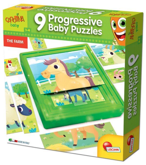 Carotina Baby Puzzle the Farm 32pcs (65424) Carotina Baby Αγόρι, Κορίτσι 12-24 μηνών, 2-3 ετών
