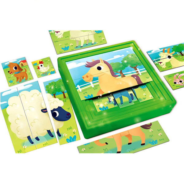 Carotina Baby Puzzle the Farm 32pcs (65424)  Αγόρι, Κορίτσι 12-24 μηνών, 2-3 ετών Carotina Baby