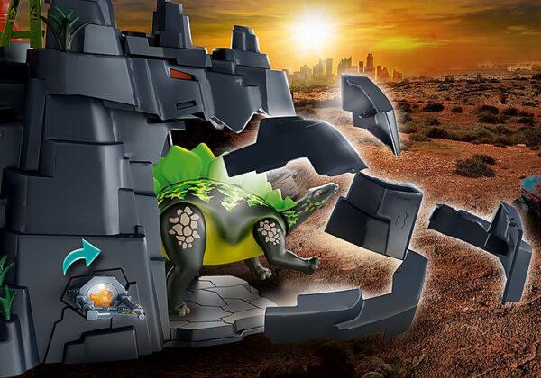Playmobil Dino Rise Ο βράχος των δεινοσαύρων 70623 12 ετών +, 5-7 ετών, 7-12 ετών Αγόρι Playmobil, Playmobil Dino Rise