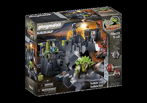 Playmobil Dino Rise Ο βράχος των δεινοσαύρων 70623 Playmobil, Playmobil Dino Rise Αγόρι 12 ετών +, 5-7 ετών, 7-12 ετών
