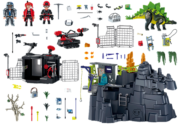 Playmobil Dino Rise Ο βράχος των δεινοσαύρων 70623  Αγόρι 12 ετών +, 5-7 ετών, 7-12 ετών Playmobil, Playmobil Dino Rise
