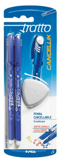 Στυλό Μπλε Tratto Cancellik 0.4 2Τμχ  000041701 LYRA Αγόρι, Κορίτσι