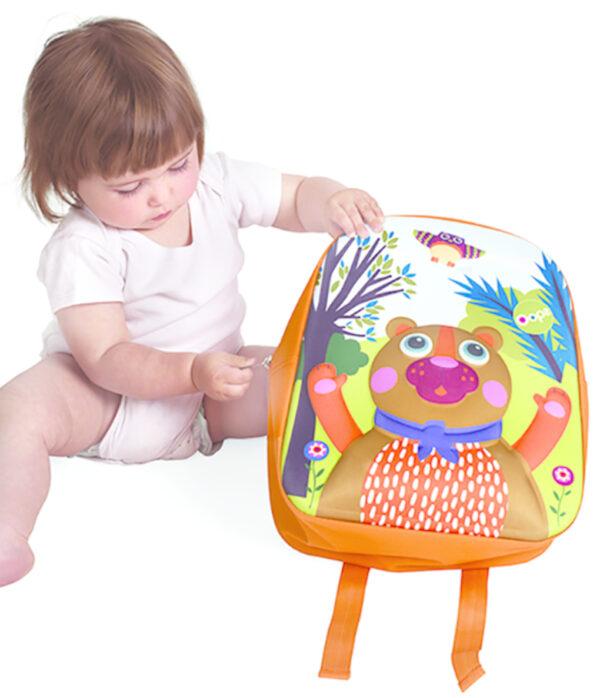 Oops Τσάντα Πλάτης Happy Backpack Bear    Oops