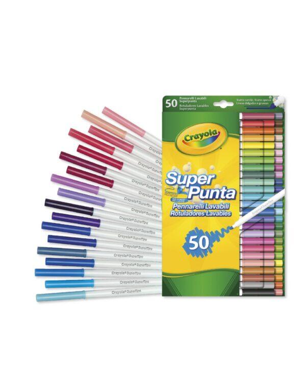 Crayola - 50 Μαρκαδόροι Πλενόμενοι 7555 Crayola Αγόρι, Κορίτσι