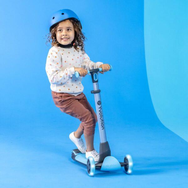 Πατίνι YGlider Luna - Μπλε 53.101265 Αγόρι, Κορίτσι 12-24 μηνών, 2-3 ετών, 3-4 ετών, 4-5 ετών, 5-7 ετών, 7-12 ετών  Yvolution