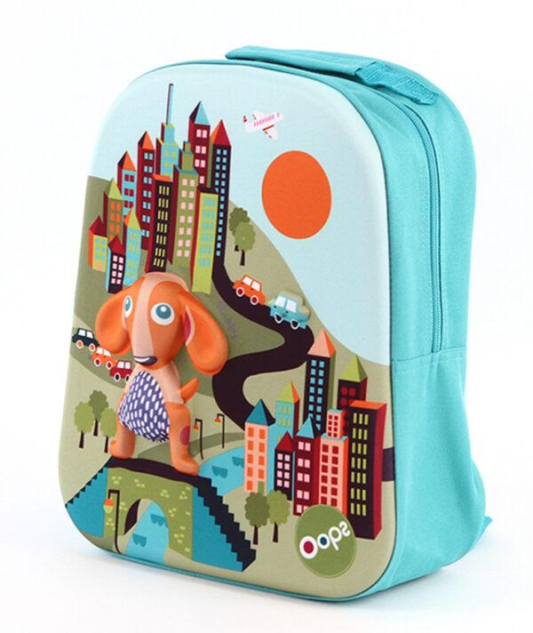Oops Τσάντα Πλάτης Happy Backpack City Oops