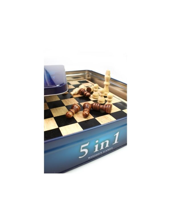 Tactic Αγόρι, Κορίτσι  Tactic Eπιτραπέζιο 5 σε 1 σκακι, ταβλι, νταμα, ντομινο ntc10000