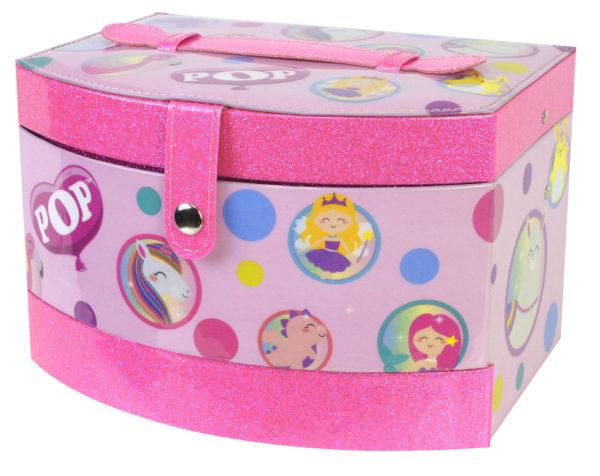 Markwins POP GIRL Beauty Vanity Case 1539022E Markwins Κορίτσι 4-5 ετών, 5-7 ετών, 7-12 ετών