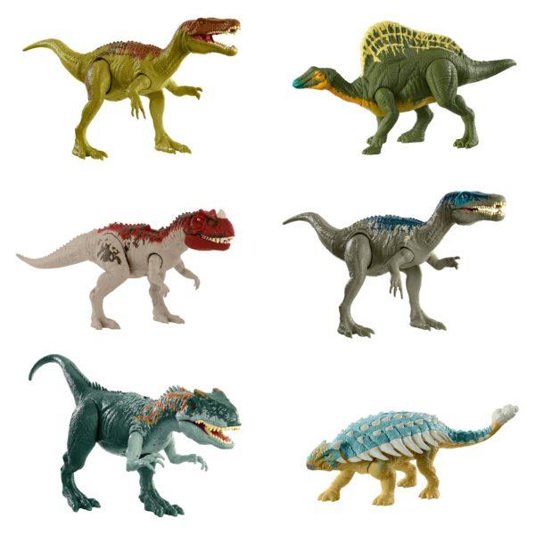 Jurassic World Δεινόσαυροι Με Κινούμενα Μέλη, Λειτουργία Επίθεσης & Ήχους Jurassic World Αγόρι 4-5 ετών, 5-7 ετών, 7-12 ετών Jurassic World