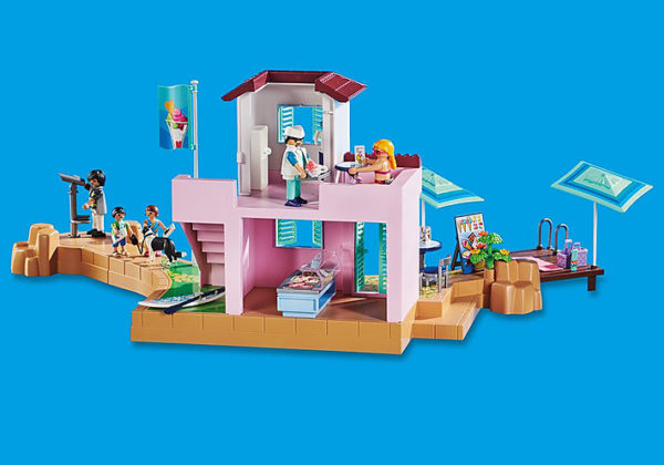 Playmobil Family Fun Παραθαλάσσιο παγωτατζίδικο 70279 4-5 ετών, 5-7 ετών, 7-12 ετών Αγόρι, Κορίτσι Playmobil, Playmobil Family Fun