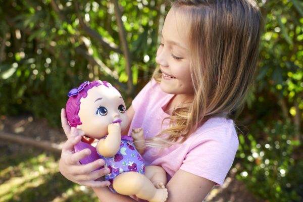My Garden BabyΜωράκι ΏραΓιαΦαγητό Μωβ Μαλλιά  Κορίτσι 3-4 ετών, 4-5 ετών, 5-7 ετών My Garden Baby