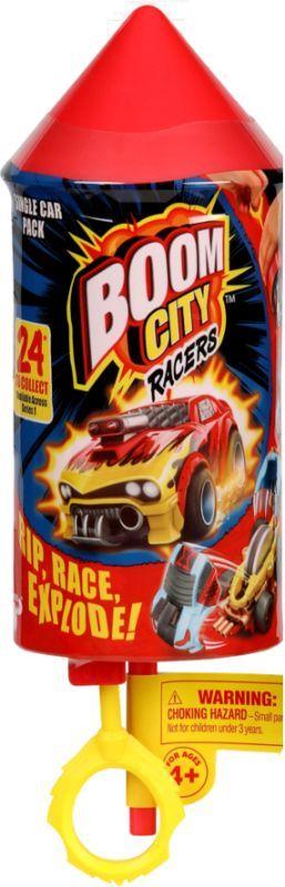 Boom City Racers S1 Single Pack BMC03000/BMC05000  Αγόρι  Tactic
