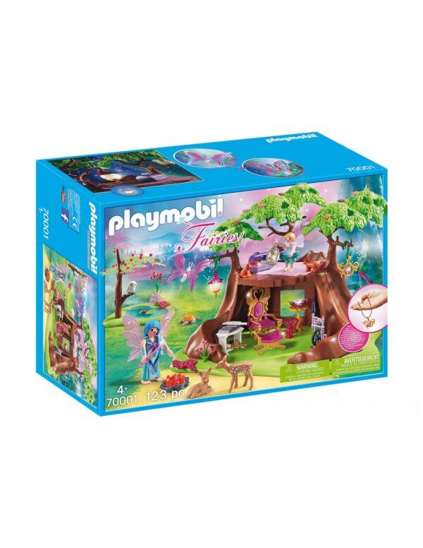 Playmobil Fairies Νεραιδένιο Δεντρόσπιτο 70001 Playmobil Αγόρι, Κορίτσι 4-5 ετών, 5-7 ετών, 7-12 ετών