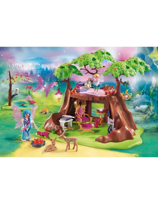 Playmobil Fairies Νεραιδένιο Δεντρόσπιτο 70001  Αγόρι, Κορίτσι 4-5 ετών, 5-7 ετών, 7-12 ετών Playmobil