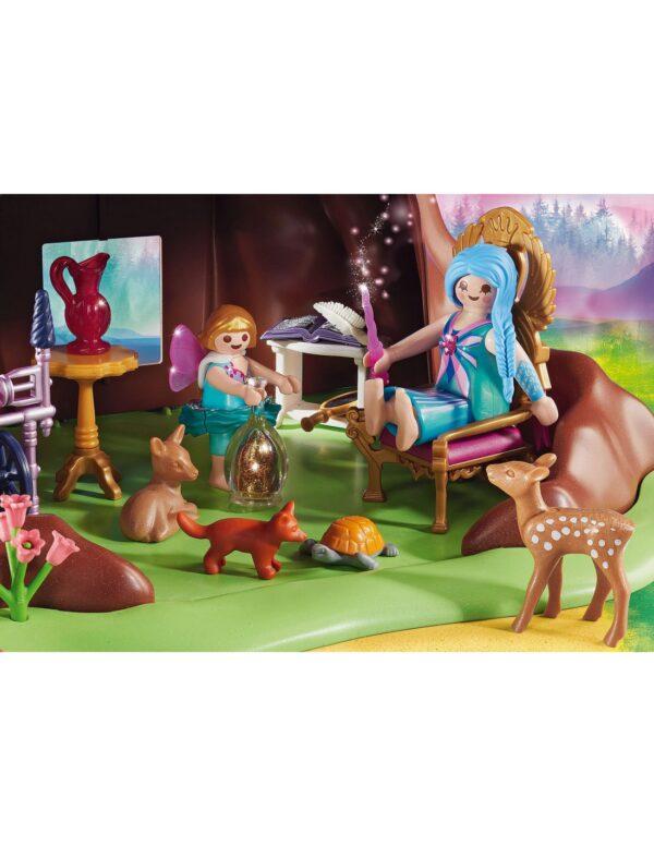 Playmobil Αγόρι, Κορίτσι 4-5 ετών, 5-7 ετών, 7-12 ετών Playmobil Fairies Νεραιδένιο Δεντρόσπιτο 70001