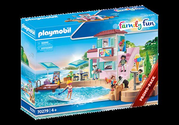 Playmobil Family Fun Παραθαλάσσιο παγωτατζίδικο 70279 Playmobil, Playmobil Family Fun Αγόρι, Κορίτσι 4-5 ετών, 5-7 ετών, 7-12 ετών