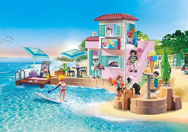 Playmobil, Playmobil Family Fun  Playmobil Family Fun Παραθαλάσσιο παγωτατζίδικο 70279 Αγόρι, Κορίτσι 4-5 ετών, 5-7 ετών, 7-12 ετών