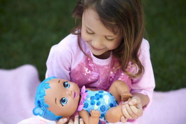 My Garden Baby Κορίτσι 3-4 ετών, 4-5 ετών, 5-7 ετών My Garden BabyΜωράκι ΏραΓιαΦαγητό Μπλε Μαλλιά