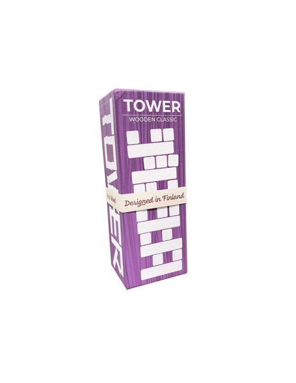 Tactic Επιτραπέζιο Παιχνίδι Ξύλινος Πύργος Σε Μεταλλικό Κουτί NTC11000 Tactic Αγόρι, Κορίτσι