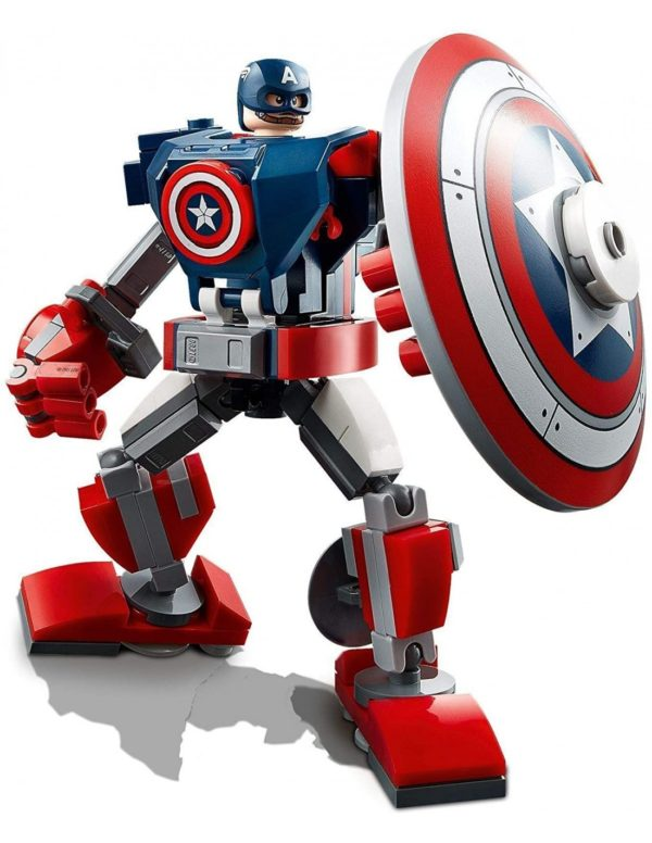 Lego Super Heroes Avengers Lego Marvel Avengers  Captain America Mech Armor76168 Αγόρι 12 ετών +, 7-12 ετών