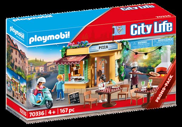 Playmobil City Life Πιτσαρία 70336 Playmobil, Playmobil City Life Αγόρι, Κορίτσι 4-5 ετών, 5-7 ετών, 7-12 ετών