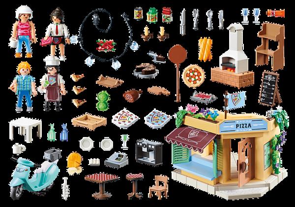 Playmobil City Life Πιτσαρία 70336  Αγόρι, Κορίτσι 4-5 ετών, 5-7 ετών, 7-12 ετών Playmobil, Playmobil City Life