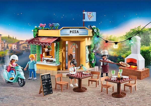 Playmobil, Playmobil City Life  Playmobil City Life Πιτσαρία 70336 Αγόρι, Κορίτσι 4-5 ετών, 5-7 ετών, 7-12 ετών
