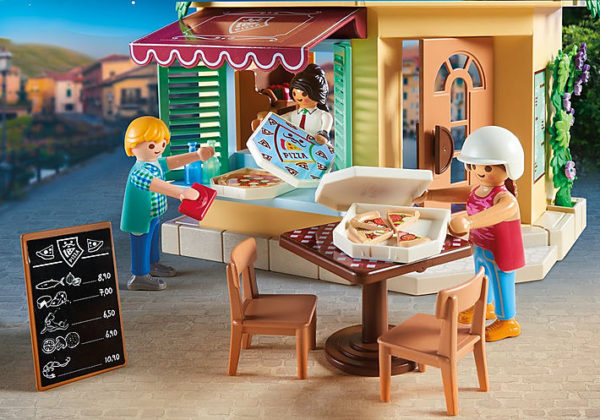 Playmobil, Playmobil City Life Αγόρι, Κορίτσι 4-5 ετών, 5-7 ετών, 7-12 ετών Playmobil City Life Πιτσαρία 70336