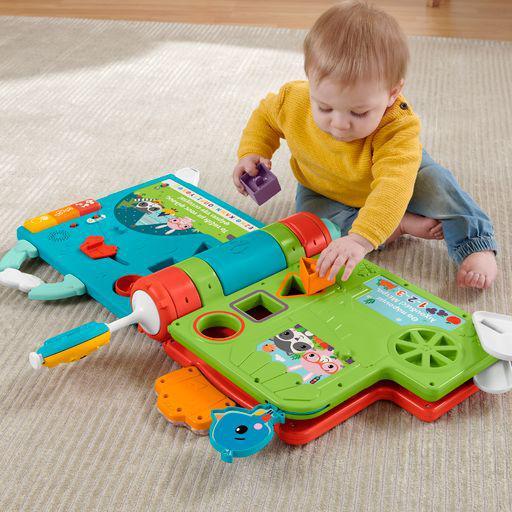 Fisher-Price  Fisher-Price Το Πρώτο μου Σχολείο Μεγάλο Βιβλίο Παιχνίδι Δραστηριοτήτων - Ελληνική Έκδοση Αγόρι, Κορίτσι 12-24 μηνών, 2-3 ετών, 6-12 μηνών