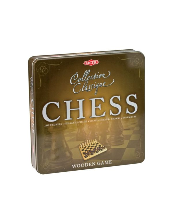 Tactic Επιτραπέζιο Ξύλινο Σκάκι NTC09000 Tactic Αγόρι, Κορίτσι