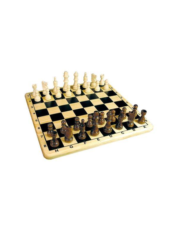 Tactic Επιτραπέζιο Ξύλινο Σκάκι NTC09000  Αγόρι, Κορίτσι  Tactic