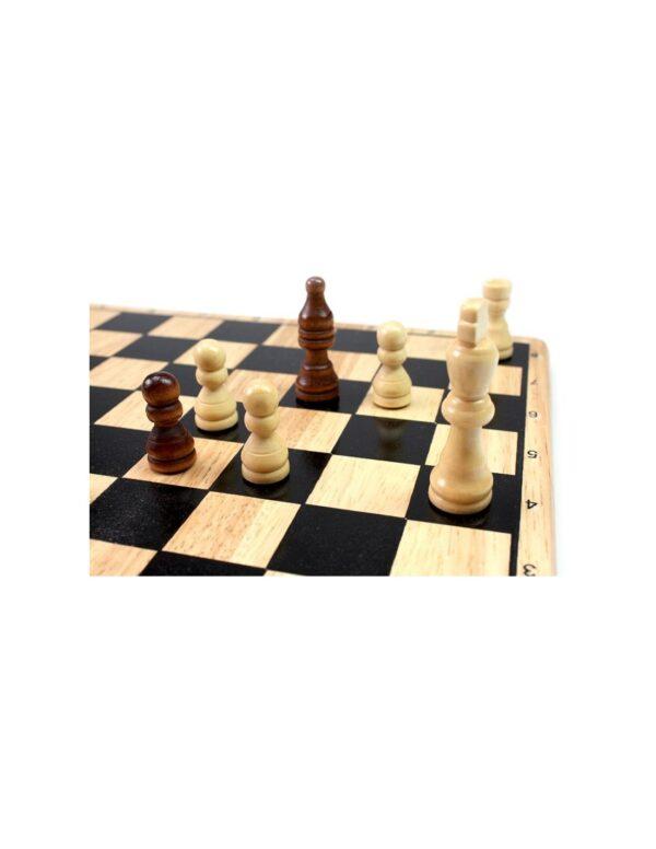 Tactic  Tactic Επιτραπέζιο Ξύλινο Σκάκι NTC09000 Αγόρι, Κορίτσι