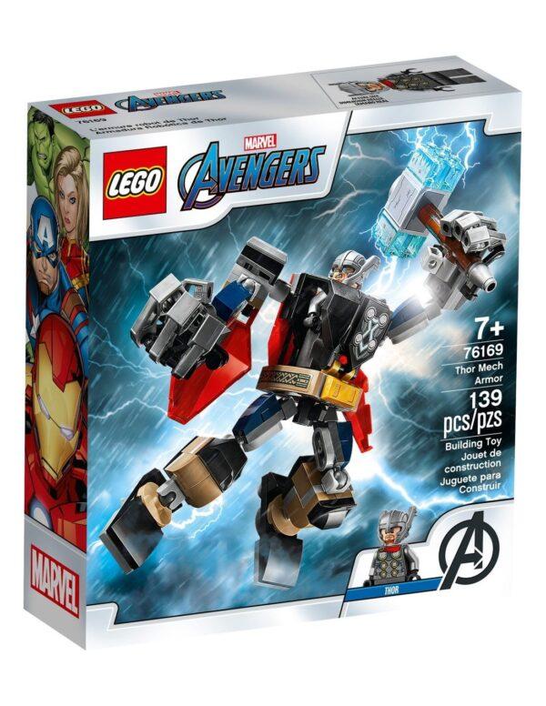Lego Super Heroes Avengers Thor Mech Armor76169 Lego Super Heroes Αγόρι 12 ετών +, 7-12 ετών Avengers