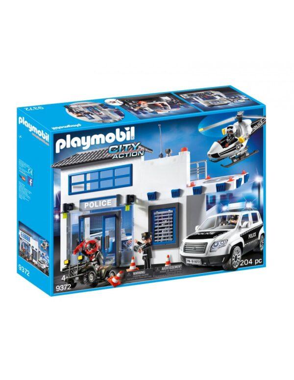 Playmobil City Action Αστυνομικό Τμήμα Με Περιπολικό και Ελικόπτερο 9372 Playmobil, Playmobil City Action Αγόρι 4-5 ετών, 5-7 ετών, 7-12 ετών