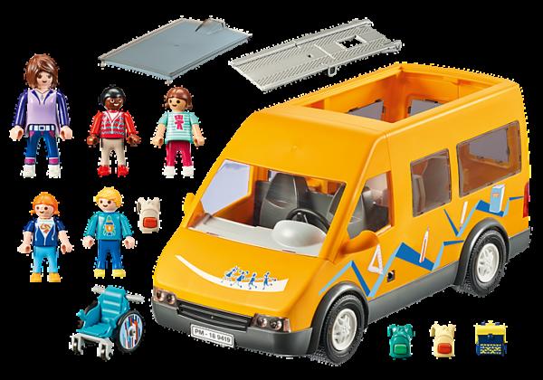 Playmobil City Life Σχολικό λεωφορείο 9419  Αγόρι, Κορίτσι 4-5 ετών, 5-7 ετών, 7-12 ετών Playmobil, Playmobil City Life
