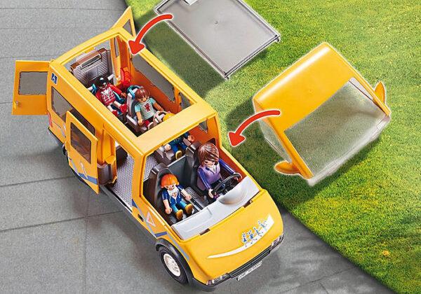 Playmobil, Playmobil City Life  Playmobil City Life Σχολικό λεωφορείο 9419 Αγόρι, Κορίτσι 4-5 ετών, 5-7 ετών, 7-12 ετών