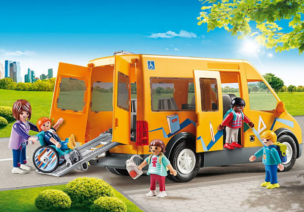Playmobil, Playmobil City Life Αγόρι, Κορίτσι 4-5 ετών, 5-7 ετών, 7-12 ετών Playmobil City Life Σχολικό λεωφορείο 9419
