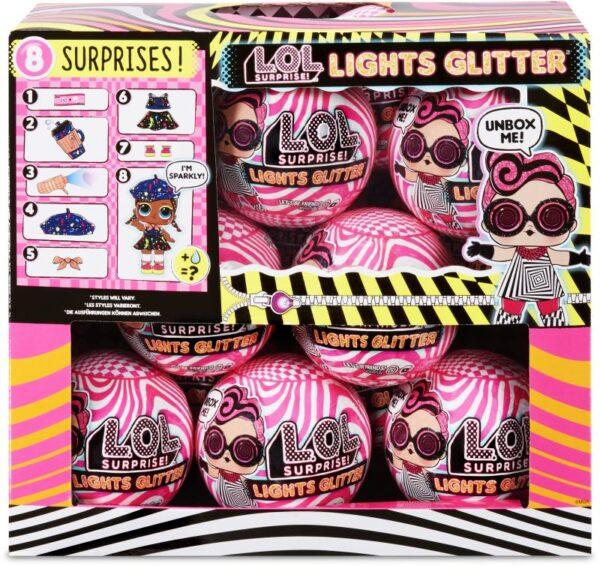 LoL L.O.L Surprise Κούκλα Lights Glitter - 1 Τμχ LLUB4000/3000 L.O.L Surprise  Κορίτσι