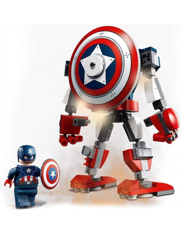 Avengers Lego Super Heroes Αγόρι 12 ετών +, 7-12 ετών Lego Marvel Avengers  Captain America Mech Armor76168