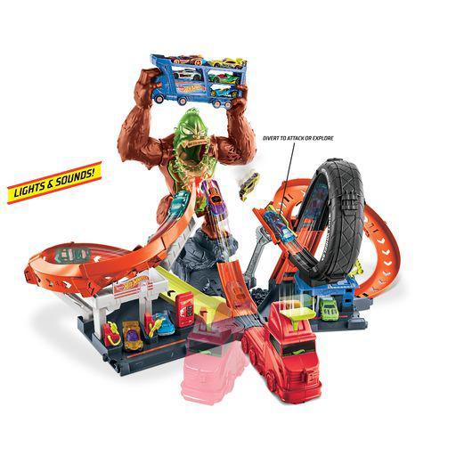 Hot Wheels City Πίστα Γορίλας Αγόρι 5-7 ετών, 7-12 ετών Hot Wheels Hot Wheels