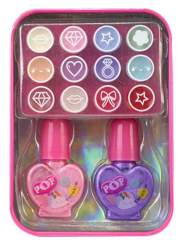 Markwins POP GIRL Color Tin - Rainbow 1539002E Markwins Κορίτσι 4-5 ετών, 5-7 ετών, 7-12 ετών