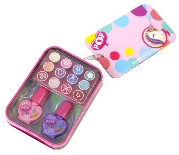 Markwins POP GIRL Color Tin - Rainbow 1539002E  Κορίτσι 4-5 ετών, 5-7 ετών, 7-12 ετών Markwins
