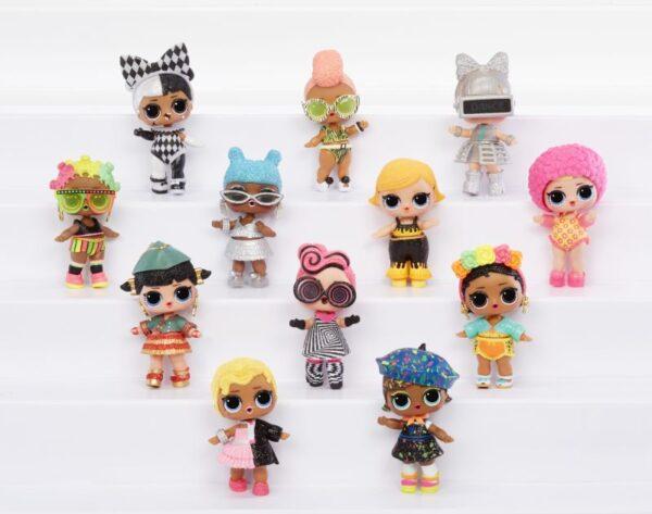 L.O.L Surprise Κούκλα Lights Glitter - 1 Τμχ LLUB4000/3000 LoL Κορίτσι  L.O.L Surprise