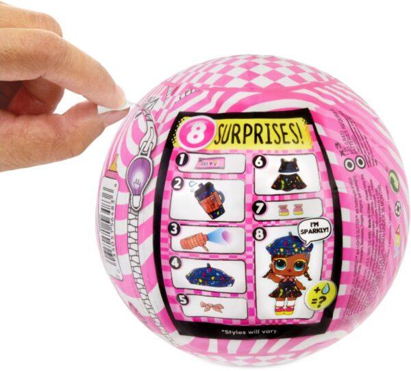 LoL L.O.L Surprise Κορίτσι  L.O.L Surprise Κούκλα Lights Glitter - 1 Τμχ LLUB4000/3000