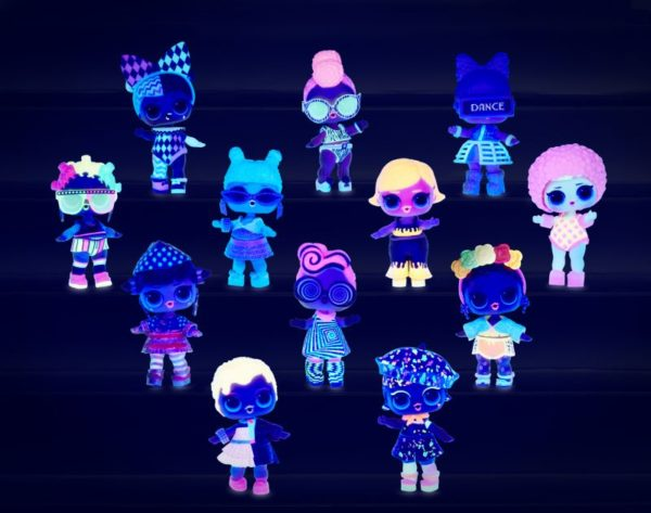 L.O.L Surprise Κούκλα Lights Glitter - 1 Τμχ LLUB4000/3000 Κορίτσι  LoL L.O.L Surprise