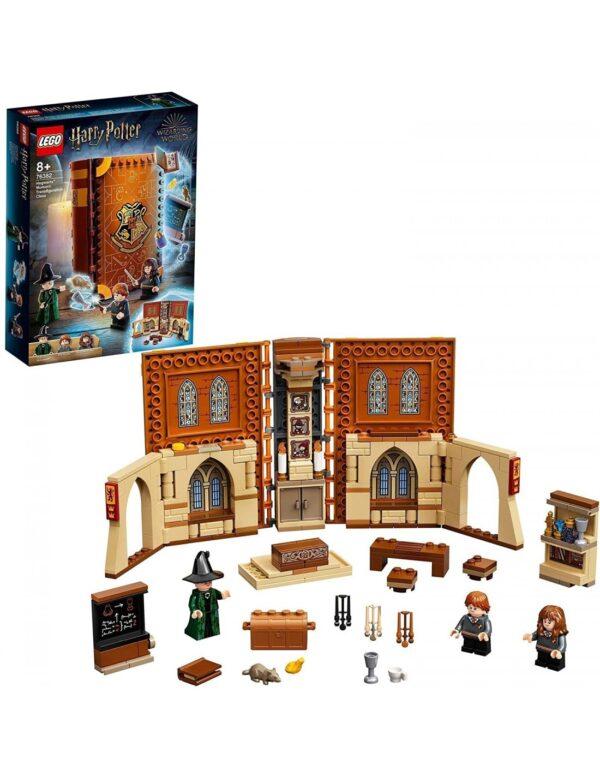 Lego Harry Potter Στιγμές Χόγκγουαρτς™: Μάθημα Μεταμορφώσεων76382 Harry Potter Αγόρι 12 ετών +, 7-12 ετών Lego Harry Potter