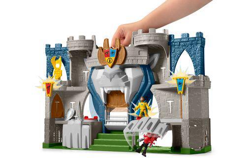 Fisher-Price Imaginext Ιπποτικό Κάστρο με Φιγούρες και Αξεσουάρ  Αγόρι 3-4 ετών, 4-5 ετών, 5-7 ετών Imaginext