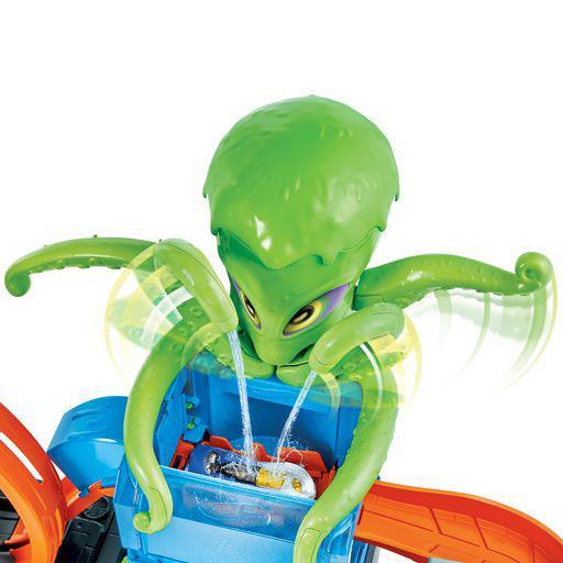 Hot Wheels Hot Wheels Αγόρι 5-7 ετών, 7-12 ετών Hot Wheels Color Reveal Πλυντήριο Με Χταπόδι