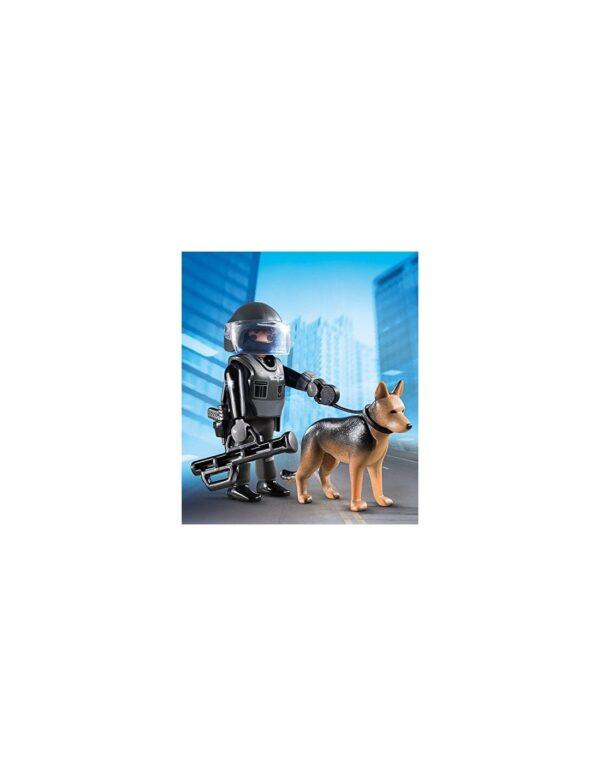 Playmobil Special Plus Αστυνομικός με Εκπαιδευμένο Σκύλο 5369  Αγόρι 4-5 ετών, 5-7 ετών, 7-12 ετών Playmobil, Playmobil Special Plus